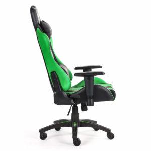 Bok fotela zielonego do komputera Sword