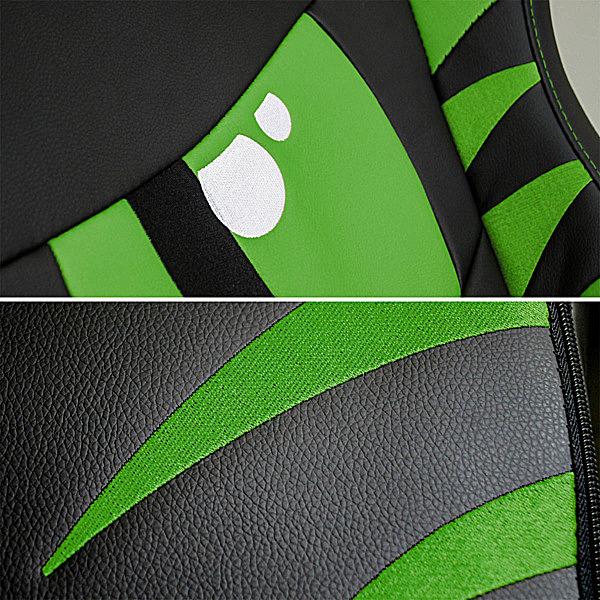 Detale krzesła gracza zielonego Dragon