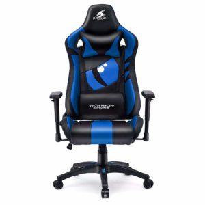 Niebieskie krzesło do komputera dla gracza Dragon
