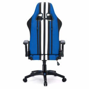 Tył krzesła gamingowego niebieskiego Sport