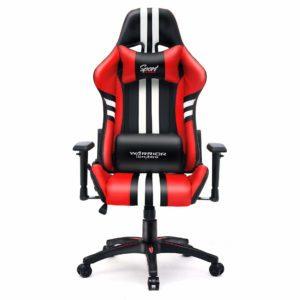 Krzesło do komputera dla gracza czerwone Sport