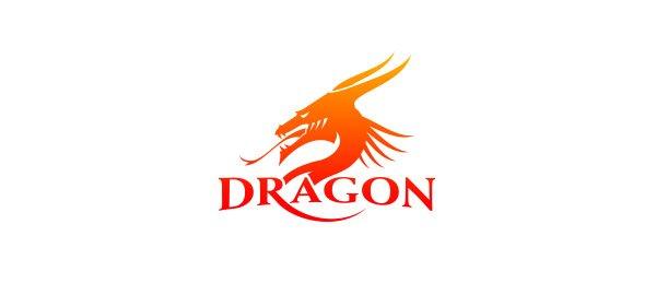 Logo foteli dla graczy komputerowych Dragon
