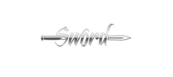 Logo foteli dla graczy komputerowych Sword