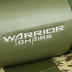 Poduszka krzesła gamingowego zielonego desert